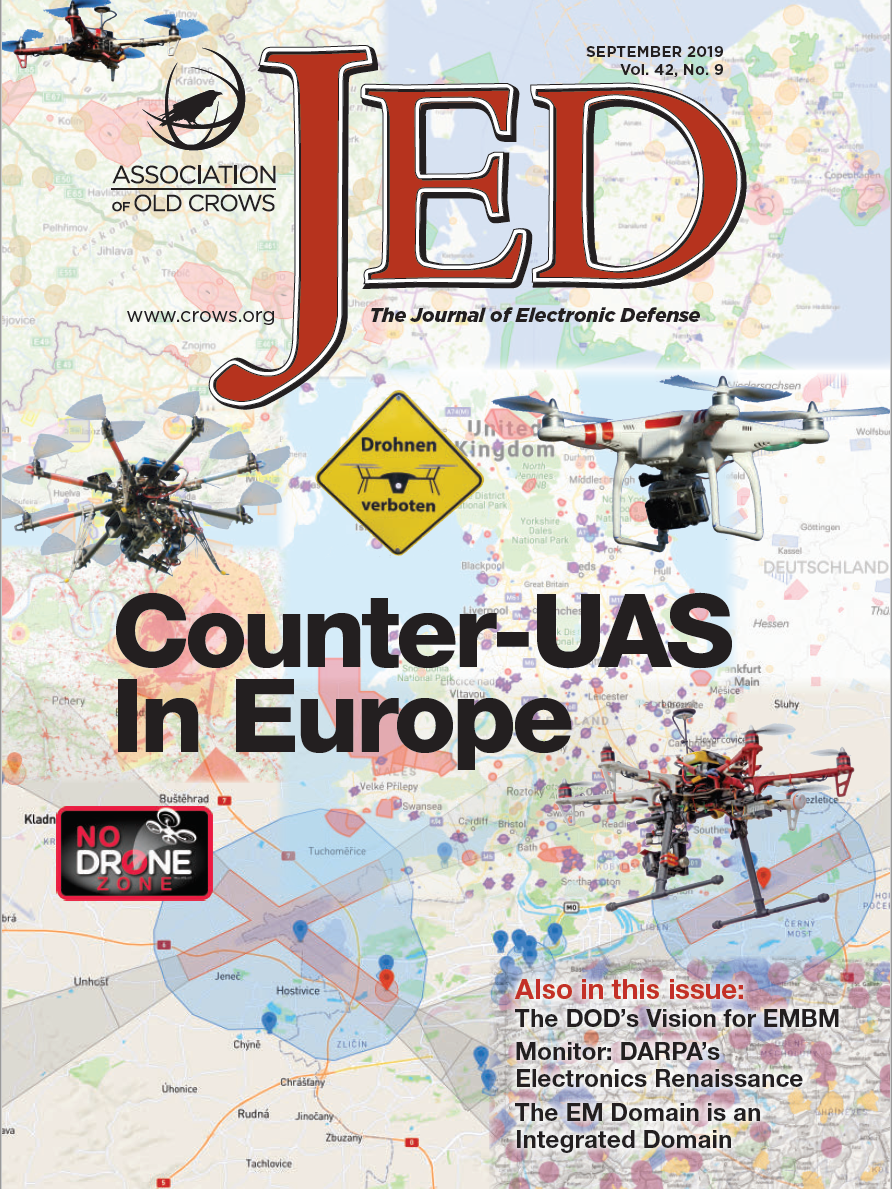 KNOX project mentioned in Association of Old Crows, The Journal of Electronic Defense, September 2019 issue